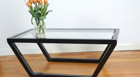Rectangular-Glass--Steel-Coffee-Table-Detail-(1)
